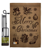 Favorite Things - Christmas Winter Vertical Impressions Decorative Flags HG114107 Made In USA