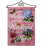 Always Believe - Expression Inspirational Vertical Impressions Decorative Flags HG115109 Made In USA