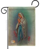 Our Lady of Grace - Faith & Religious Inspirational Vertical Impressions Decorative Flags HG103050 Made In USA