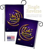 Blessed Feast - Faith & Religious Inspirational Vertical Impressions Decorative Flags HG192530 Made In USA
