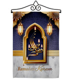 Bless Ramadan Kareen - Faith & Religious Inspirational Vertical Impressions Decorative Flags HG192529 Made In USA