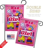 Baby Girl - Family Special Occasion Vertical Impressions Decorative Flags HG115068 Imported