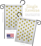 Royal French - Fleur De Lys Interests Vertical Impressions Decorative Flags HG118005 Made In USA