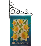 Daffodils - Floral Spring Vertical Impressions Decorative Flags HG104070 Made In USA
