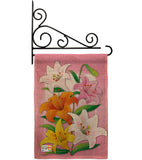 Lilies - Floral Spring Vertical Impressions Decorative Flags HG104075 Made In USA