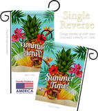 Summer Beach Time - Fun In The Sun Summer Vertical Impressions Decorative Flags HG137057 Made In USA