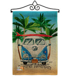 Summer Adventure - Fun In The Sun Summer Vertical Impressions Decorative Flags HG137058 Made In USA
