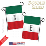 Alamo - Historic Americana Vertical Impressions Decorative Flags HG140702 Printed In USA