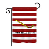 1st. U.S. Navy Jack - Historic Americana Vertical Impressions Decorative Flags HG108174 Printed In USA