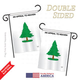 Pine Tree - Historic Americana Vertical Impressions Decorative Flags HG108182 Printed In USA
