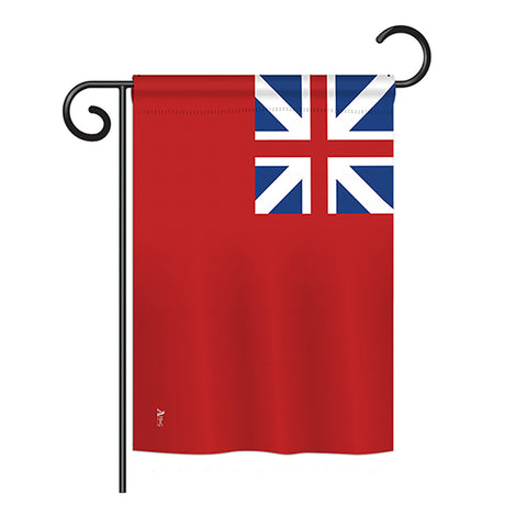 British Ren Ension - Historical Flags of the World Vertical Impressions Decorative Flags HG140707 Printed In USA