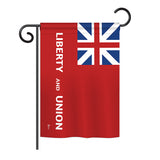 Taunton - Historical Flags of the World Vertical Impressions Decorative Flags HG140720 Printed In USA
