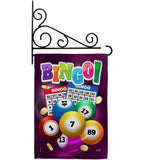 Bingo Bingo - Hobbies Interests Vertical Impressions Decorative Flags HG137089 Made In USA