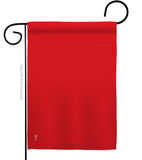 Red - Merchant Special Occasion Vertical Impressions Decorative Flags HG140918 Made In USA