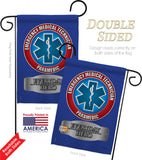 EMT - Military Americana Vertical Impressions Decorative Flags HG108009 Made In USA