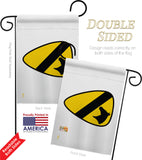 1st Cavalry - Military Americana Vertical Impressions Decorative Flags HG140317 Made In USA