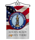 National Guard - Military Americana Vertical Impressions Decorative Flags HG108020 Made In USA