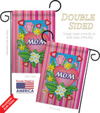 Mom - Mother's Day Summer Vertical Impressions Decorative Flags HG115078 Made In USA