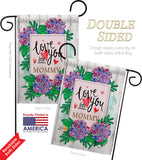 Love You Lots Mommy - Mother's Day Summer Vertical Impressions Decorative Flags HG115118 Made In USA