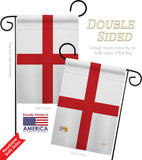 England (St. George's Cross) - Nationality Flags of the World Vertical Impressions Decorative Flags HG108168 Made In USA