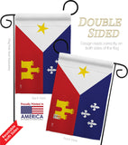 Acadiana - Nationality Flags of the World Vertical Impressions Decorative Flags HG140004 Made In USA