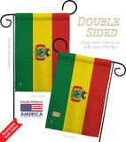Bolivia - Nationality Flags of the World Vertical Impressions Decorative Flags HG140033 Made In USA
