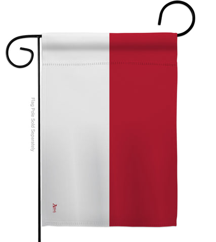 Indonesia - Nationality Flags of the World Vertical Impressions Decorative Flags HG140109 Made In USA