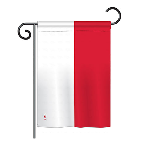 Monaco - Nationality Flags of the World Vertical Impressions Decorative Flags HG140157 Printed In USA