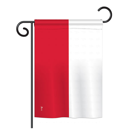 Poland - Nationality Flags of the World Vertical Impressions Decorative Flags HG140189 Printed In USA