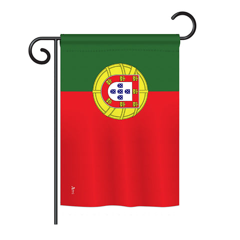 Portugal - Nationality Flags of the World Vertical Impressions Decorative Flags HG140191 Printed In USA