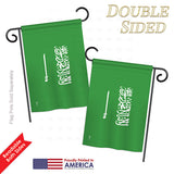 Saudi Arabia - Nationality Flags of the World Vertical Impressions Decorative Flags HG140205 Printed In USA