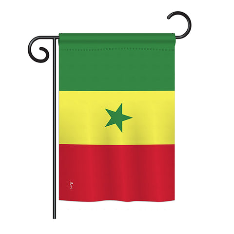 Senegal Nationality Flags Of The World Vertical Impressions Decorati Flagngift Com