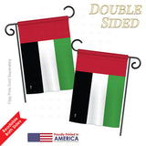 United Arab Emirates - Nationality Flags of the World Vertical Impressions Decorative Flags HG140243 Printed In USA
