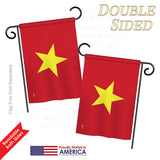 Vietnam - Nationality Flags of the World Vertical Impressions Decorative Flags HG140253 Printed In USA