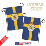 Sweden - Nationality Flags of the World Vertical Impressions Decorative Flags HG108091 Printed In USA