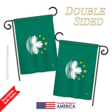 Macao - Nationality Flags of the World Vertical Impressions Decorative Flags HG108331 Printed In USA