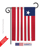Liberia - Nationality Flags of the World Vertical Impressions Decorative Flags HG108367 Printed In USA