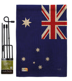 Australia - Nationality Flags of the World Vertical Impressions Decorative Flags HG108122 Made In USA