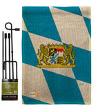 Bavaria - Nationality Flags of the World Vertical Impressions Decorative Flags HG108202 Made In USA