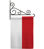 Indonesia - Nationality Flags of the World Vertical Impressions Decorative Flags HG108257 Made In USA