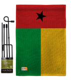Guinea Bissau - Nationality Flags of the World Vertical Impressions Decorative Flags HG108308 Made In USA