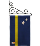 Curacao - Nationality Flags of the World Vertical Impressions Decorative Flags HG140063 Made In USA
