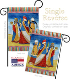 Three Wise Men - Nativity Winter Vertical Impressions Decorative Flags HG114212 Made In USA