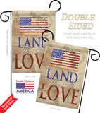 Land That I Love - Patriotic Americana Vertical Impressions Decorative Flags HG111054 Made In USA