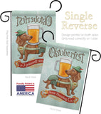 Doxie Brewing Co. - Pets Nature Vertical Impressions Decorative Flags HG110099 Made In USA