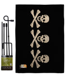 Chris Condent's - Pirate Coastal Vertical Impressions Decorative Flags HG140409 Made In USA