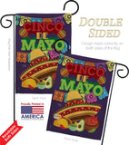Cinco de Mayo - Southwest Country & Primitive Vertical Impressions Decorative Flags HG115113 Made In USA