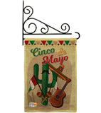 Fiesta Cinco de Mayo - Southwest Country & Primitive Vertical Impressions Decorative Flags HG115128 Made In USA