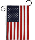 USA - States Americana Vertical Applique Decorative Flags HG108001