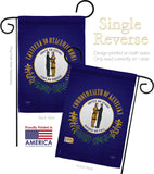 Kentucky - States Americana Vertical Impressions Decorative Flags HG108112 Made In USA